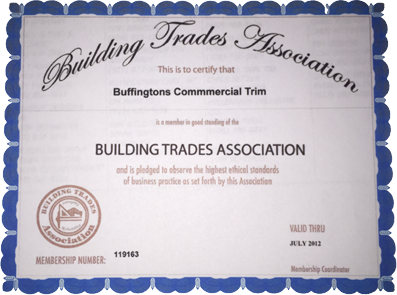 buffingtons certification